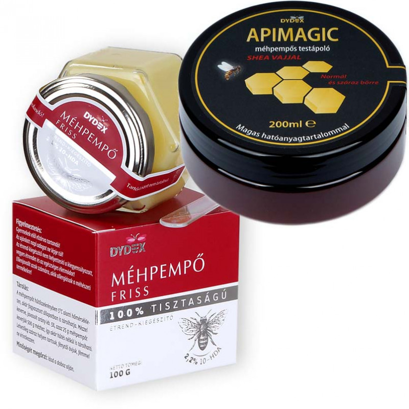 Royal jelly+APIMAGIC cream, with shea butter